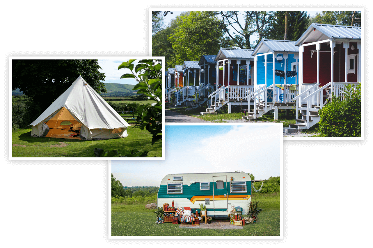 Campsite booking software